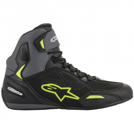 Baskets ALPINESTARS FASTER-3 DRYSTAR Black/Grey/Yellow