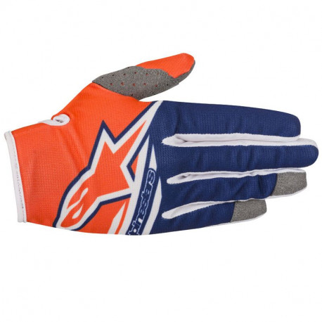 GANTS RADAR FLIGHT ORA FLUO DARK BLUE WHIT L