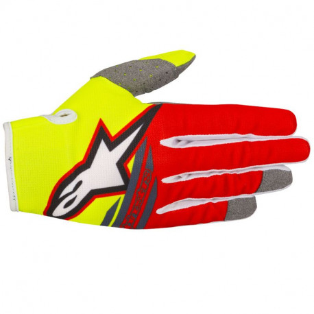 GANTS RADAR FLIGHT YELL FLUO RED ANTHRACITE L