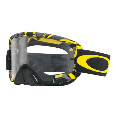 MASQUE OAKLEY O2 INTIMIDATOR METAL YELLOW INCOLORE