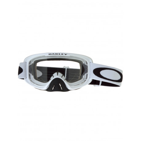 MASQUE OAKLEY O2 MATTE WHITE INCOLORE