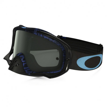 MASQUE OAKLEY CROWBAR DISTRESS TAGLINE BLUE DARK