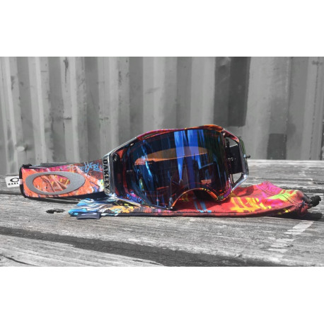 MASQUE OAKLEY AIRBRAKE HERLINGS PRIZM MX SAPPHIRE