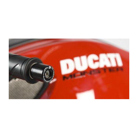 EMBOUTS DE GUIDON R&G RACING POUR DUCATI MONSTER 1100 '09, STREETFIGHTER