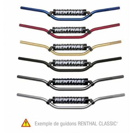 GUIDON RENTHAL CLASSIC ARGENT POUR KX/SX65 2002-07
