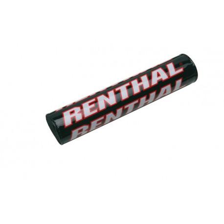 Mousse de guidon bicolore Renthal noir/rouge 245mm