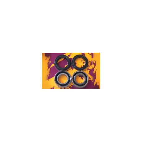 KIT ROULEMENTS DE ROUE AVANT POUR HONDA CR125/250/500 1995-07, CRF250R 2004-07 ET CRF450R 2002-06
