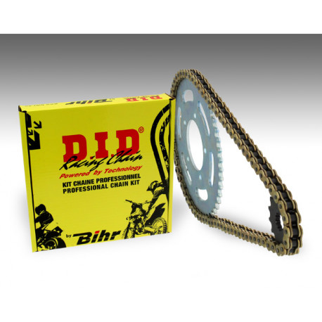 Kit chaîne D.I.D 428 type HD (couronne Standard) HYOSUNG GF125I&II