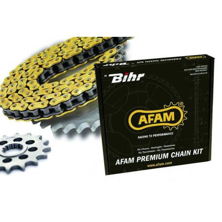 Kit chaine AFAM 520 type XRR2 (couronne ultra-light anodisé dur) TM EN125 ENDURO