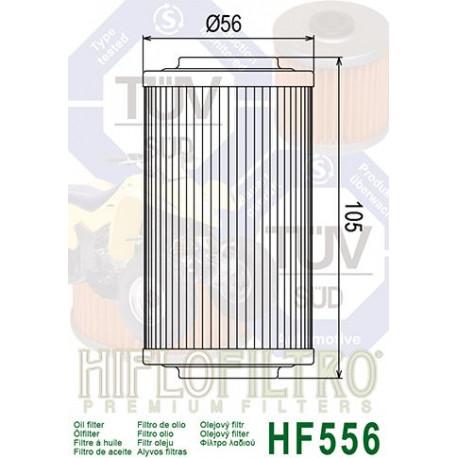 Filtre à huile Hiflofiltro HF556